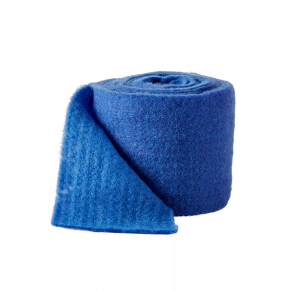 blue-light blue Wool fleeze bicolor