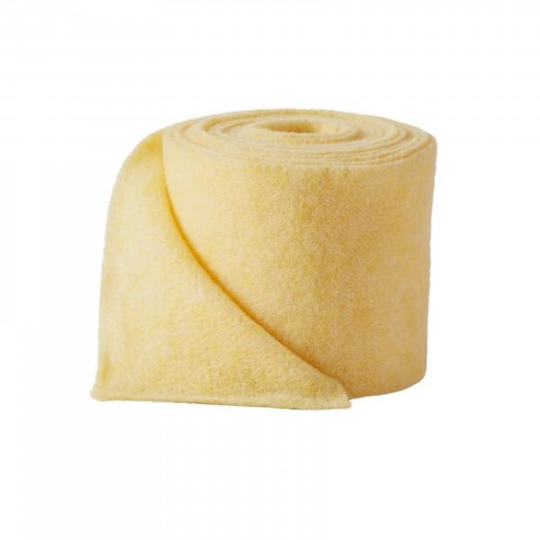 yellow melange Wool fleeze (heavy fleeze)