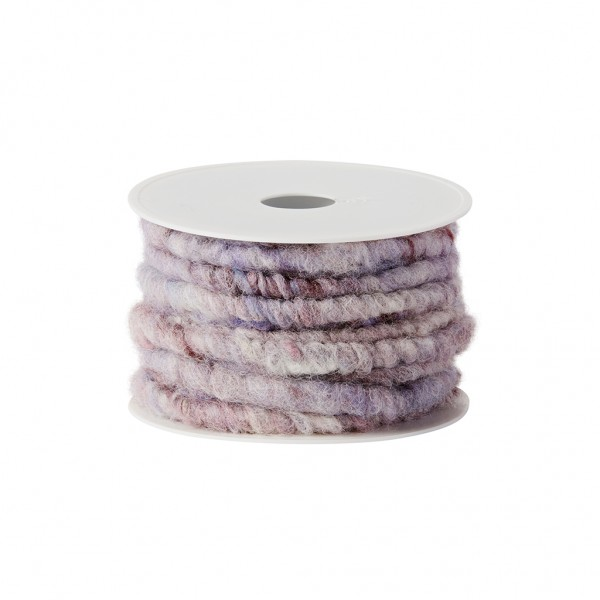 rose wood melange wool cord