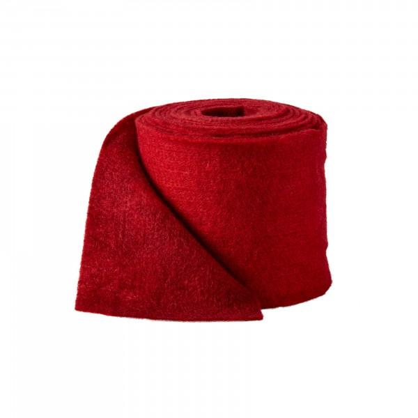 burgund-rot Wollvlies Bicolor