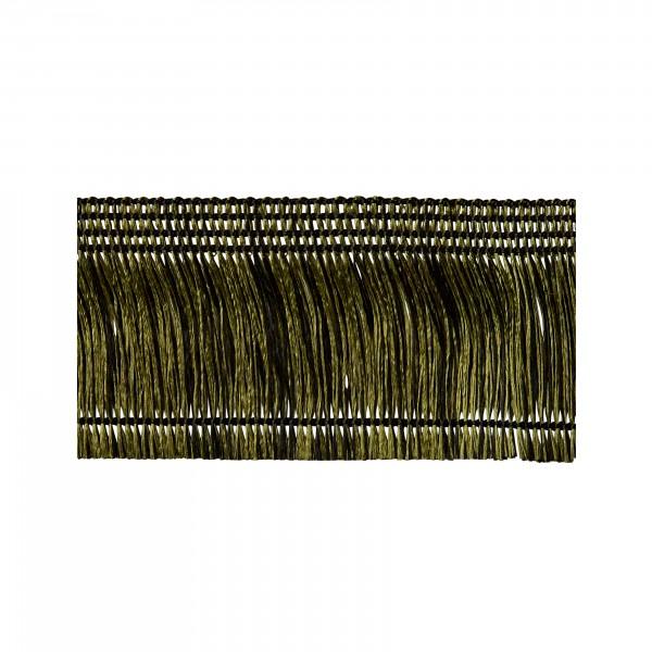Fadenfranse grün-schwarz nichtklebend