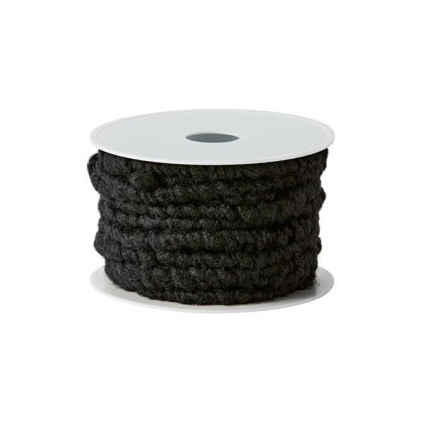 black wool cord