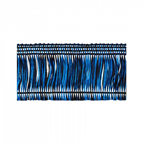 Thread fringe blue-black self-adhesive