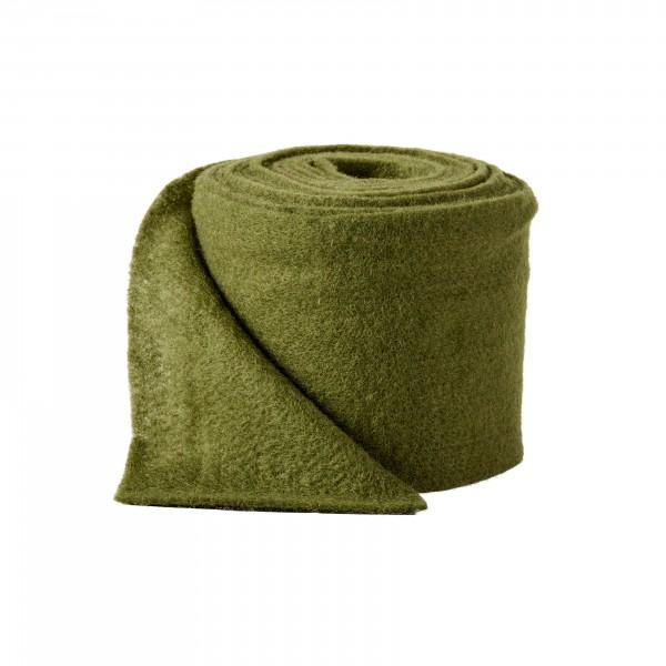 green Wool fleeze (heavy fleeze)