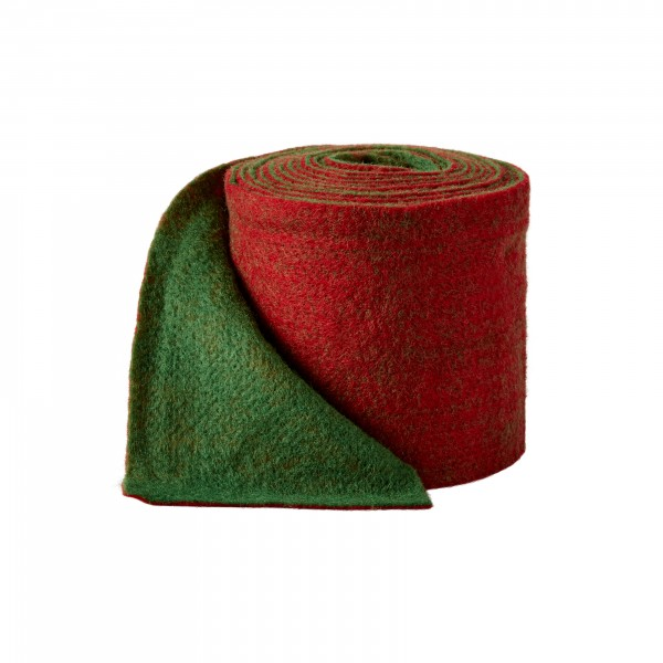 may green-red Wool fleeze bicolor