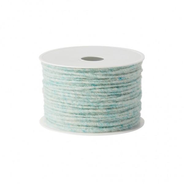 turquoise melange Wool wick