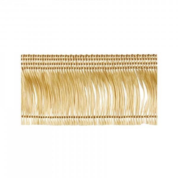 Thread fringe antique gold not adhesive