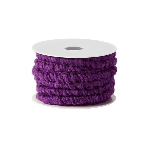 purple wool cord