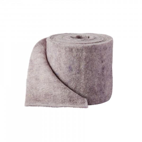 violett-melange Wollvlies (Heavy Vlies)