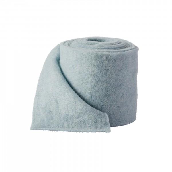 blue-gray Wool fleeze (heavy fleeze)