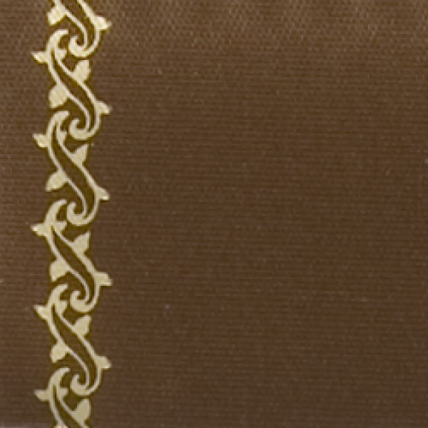 golden brown Super Satin with Z-tendril