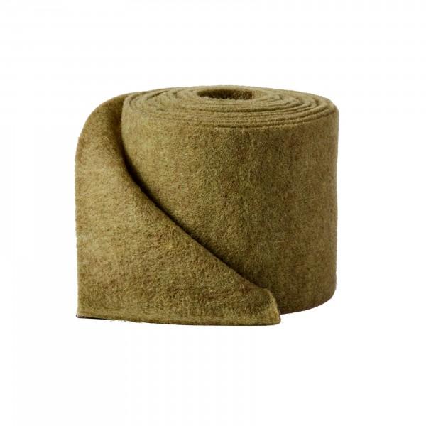 olive green Wool fleeze (heavy fleeze)