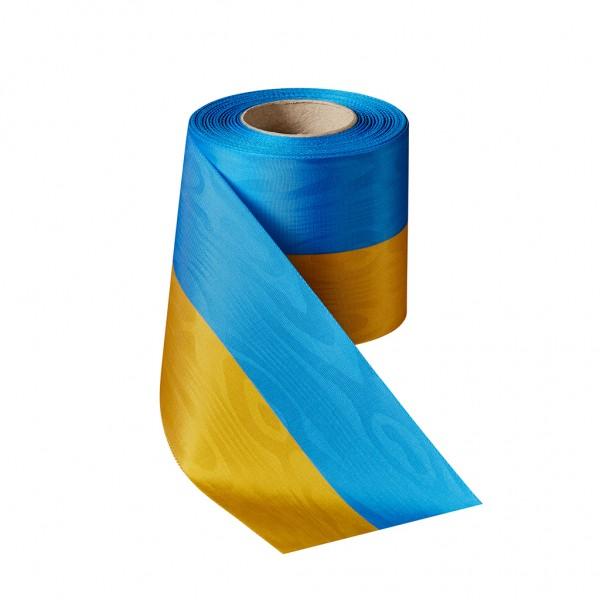 blau-gelb Moiré