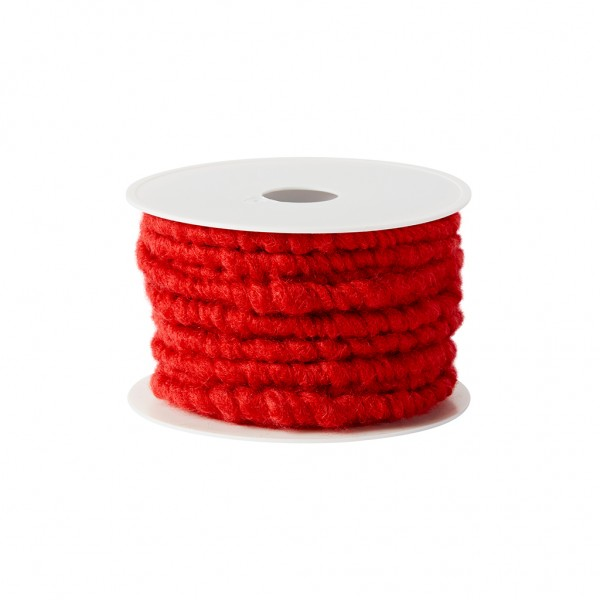red wool cord