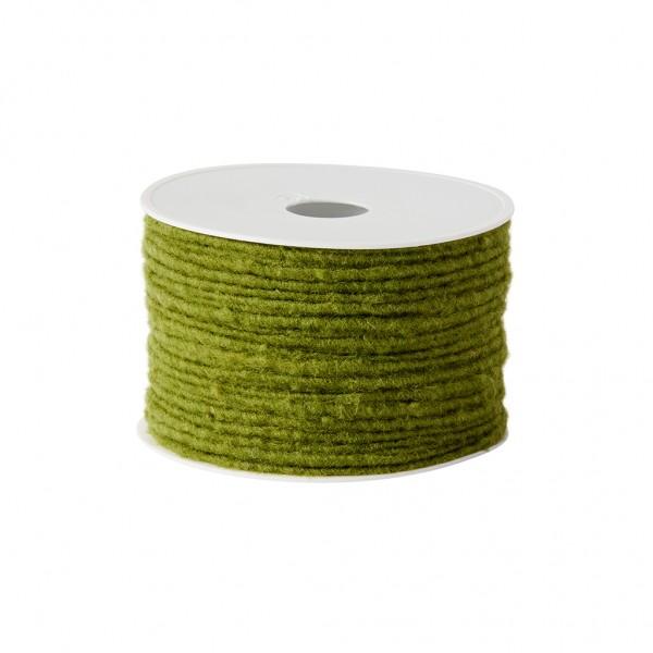 green Wool wick