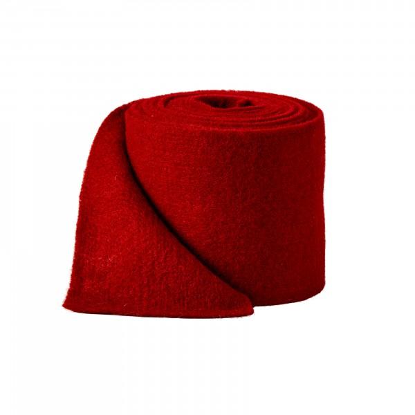 red Wool fleeze (heavy fleeze)