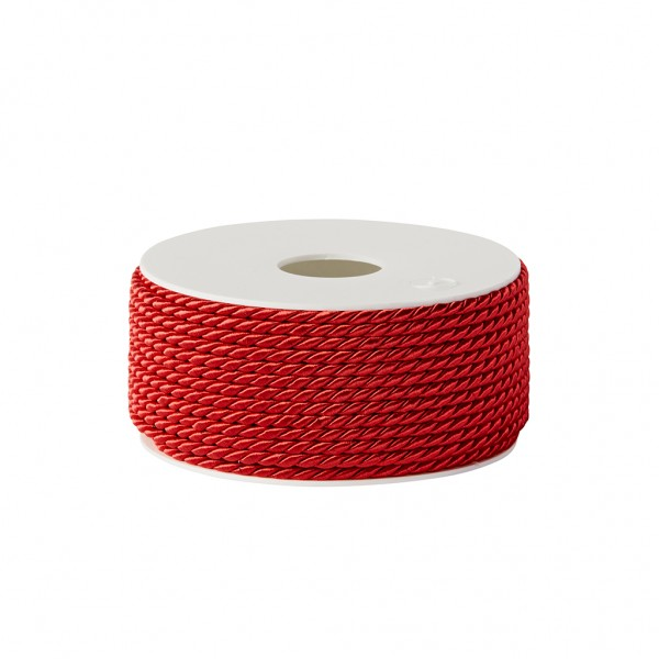 red glossy cord