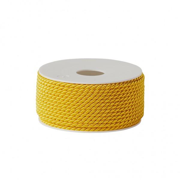 yellow glossy cord
