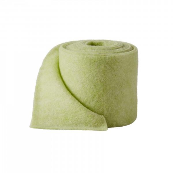 green melange Wool fleeze (heavy fleeze)