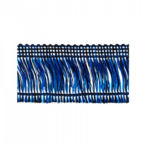 Thread fringe blue-black not adhesive