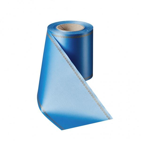 cobalt blue Super Satin with Z-tendril