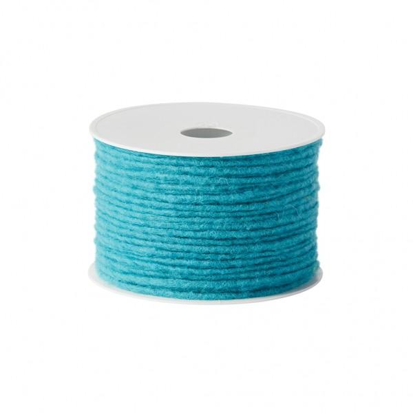 turquoise Wool wick