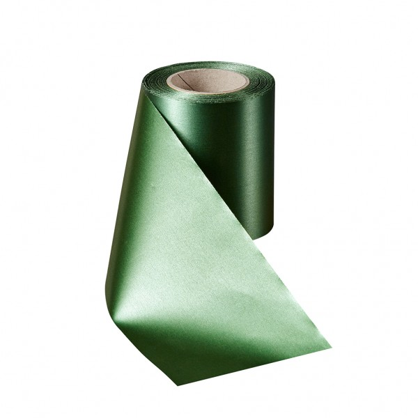 grasgrün Super-Satin ohne Rand