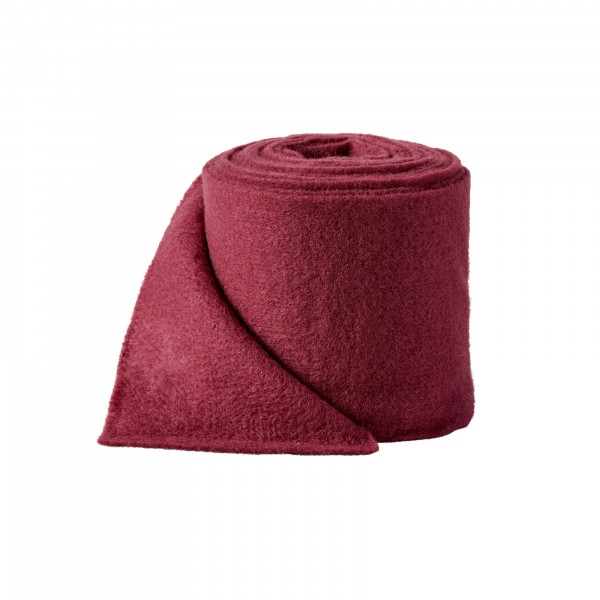 burgund Wollvlies (Heavy Vlies)