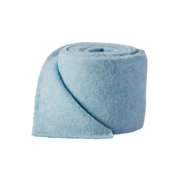 blue melange Wool fleeze (heavy fleeze)