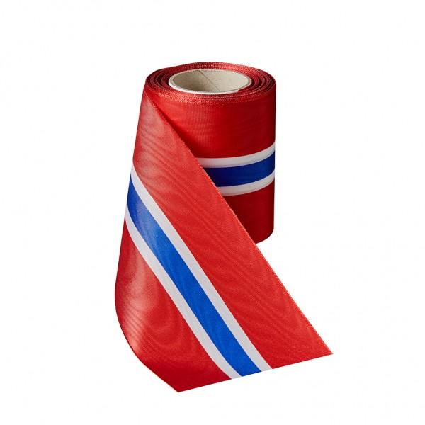 red-white-blue-white-red Moiré