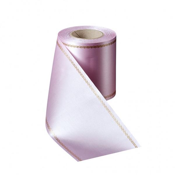 rosa Super-Satin mit Z-Rand