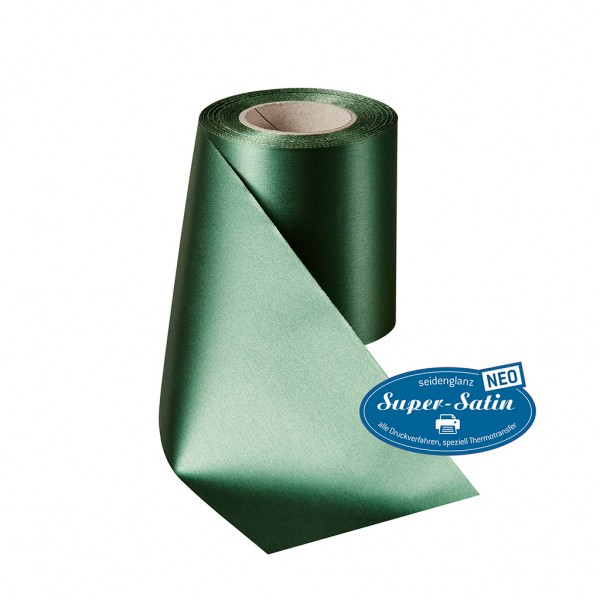 bottle green Super Satin NEO without border