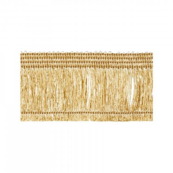 Kordunett fringe antique gold not adhesive