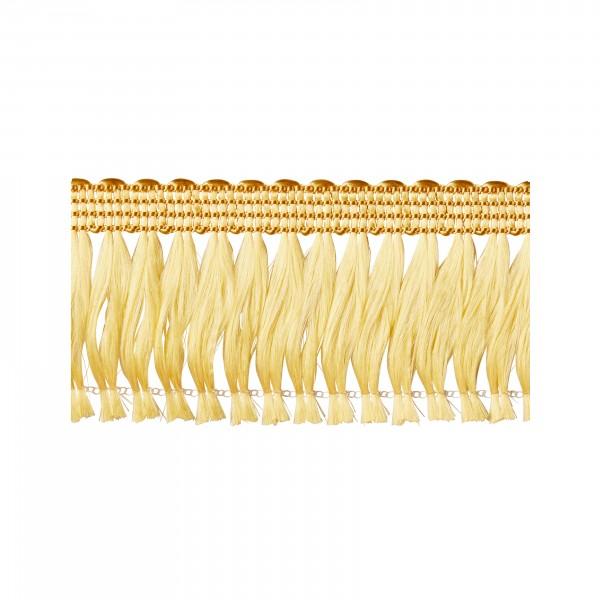 Quastenfranse gold selbstklebend