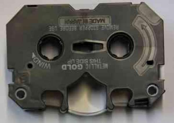 Metallic gold cartridge refilled