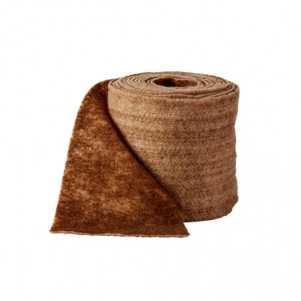 chocolate-cream Wool fleeze bicolor