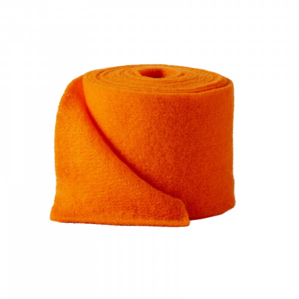 orange Wollvlies (Heavy Vlies)