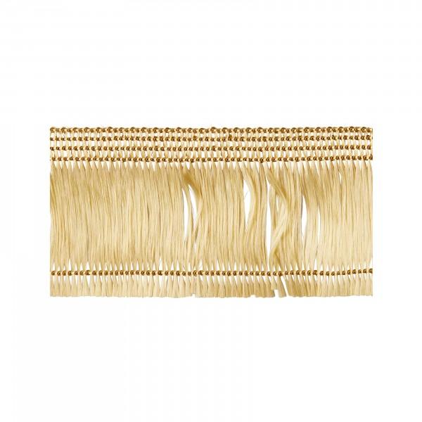 Haarfranse gold selbstklebend