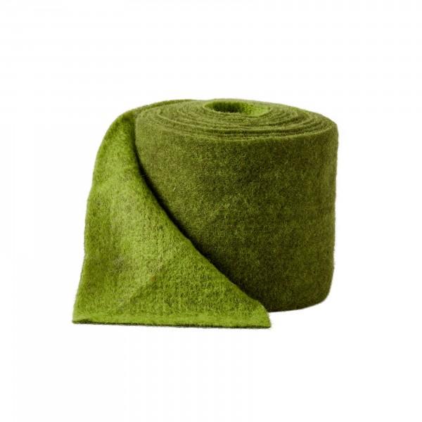 may geen-dark green Wool fleeze bicolor