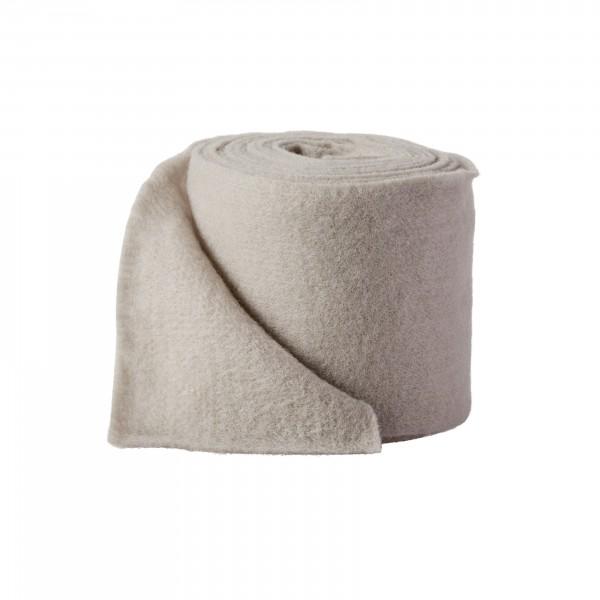 light gray Wool fleeze (heavy fleeze)