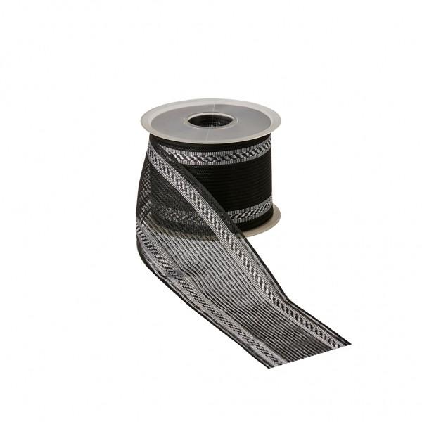 Flor Ribbon black - cord