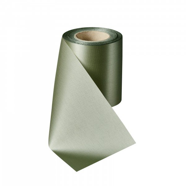 pastel green Satin without border