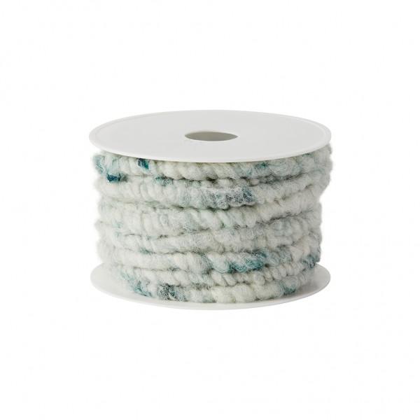 lime melange wool cord