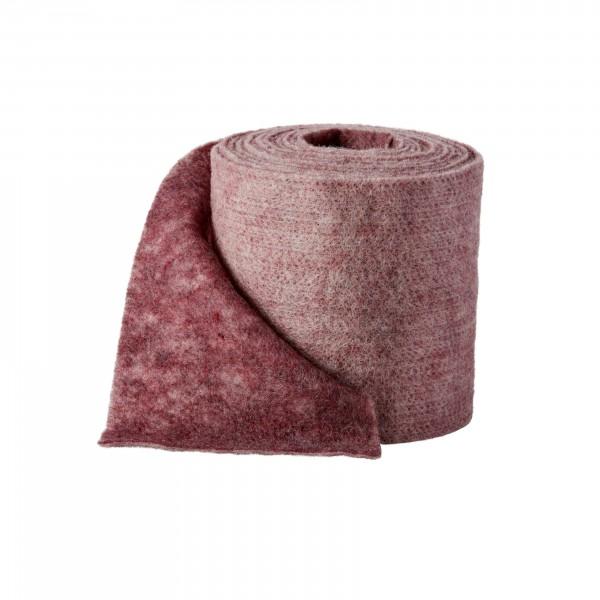 rosenholz-melange Wollvlies (Heavy Vlies)