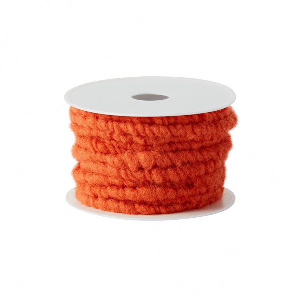 orange wool cord
