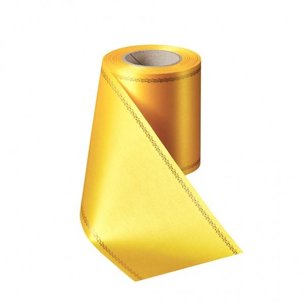 gelb Super-Satin mit Z-Rand