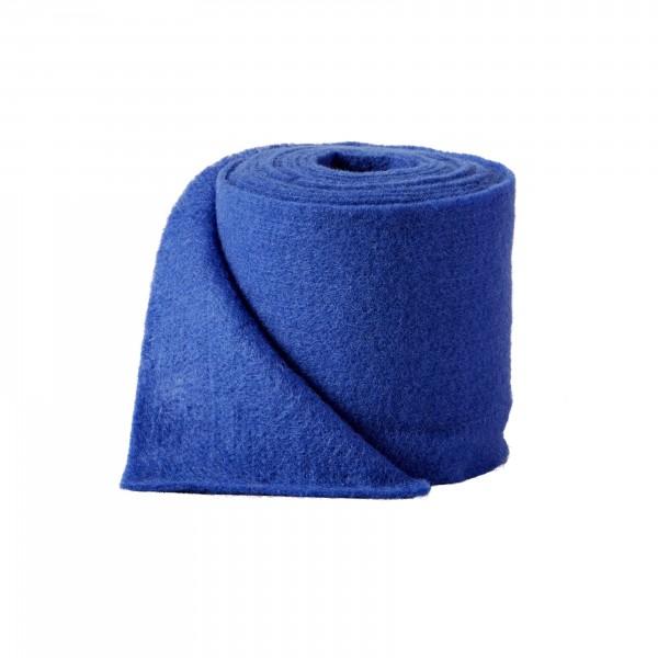 gentian blue Wool fleeze (heavy fleeze)